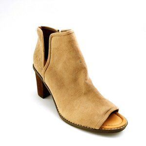 Dr Scholls High Heel Open Toe Ankle Bootie NEW